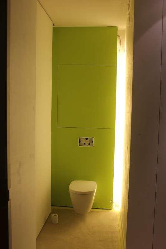 Led strip met aan uit schakelaar bouwinfo for Indirecte verlichting toilet